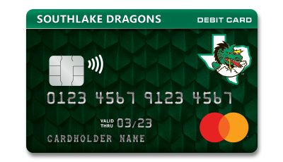 Southlake Dragons Debit Card
