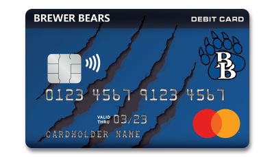 Brewer Bears Debit Card