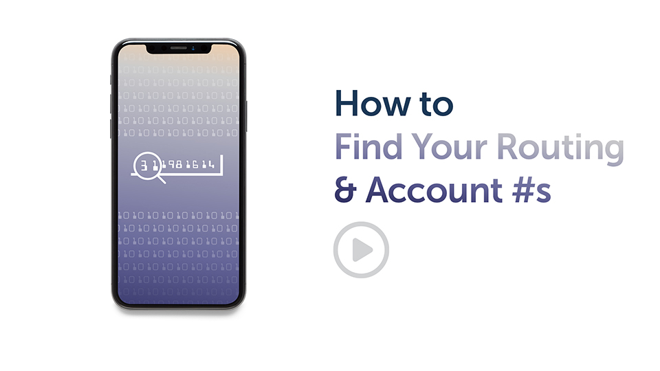 Banking Tips: How to Find Your Routing & Account #s